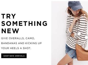 exemple newsletter de moda