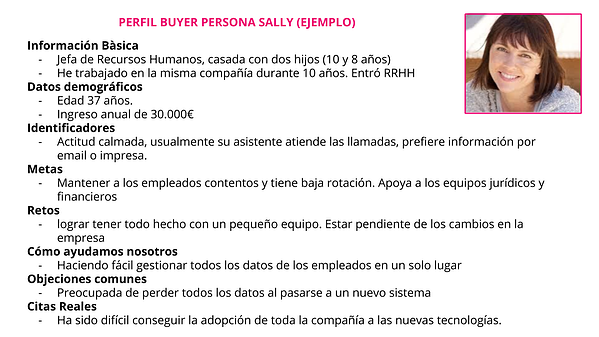 perfil-buyer-persona-sally-ejemplo-inbound-marketing-bizmarketing