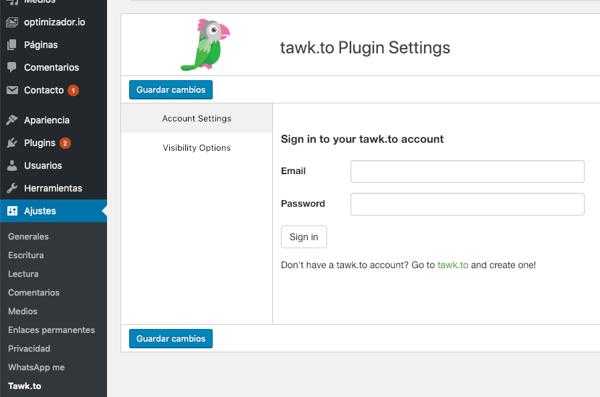 tawkto-plugin-wordpress-iniciar-sesion-bizmarketing