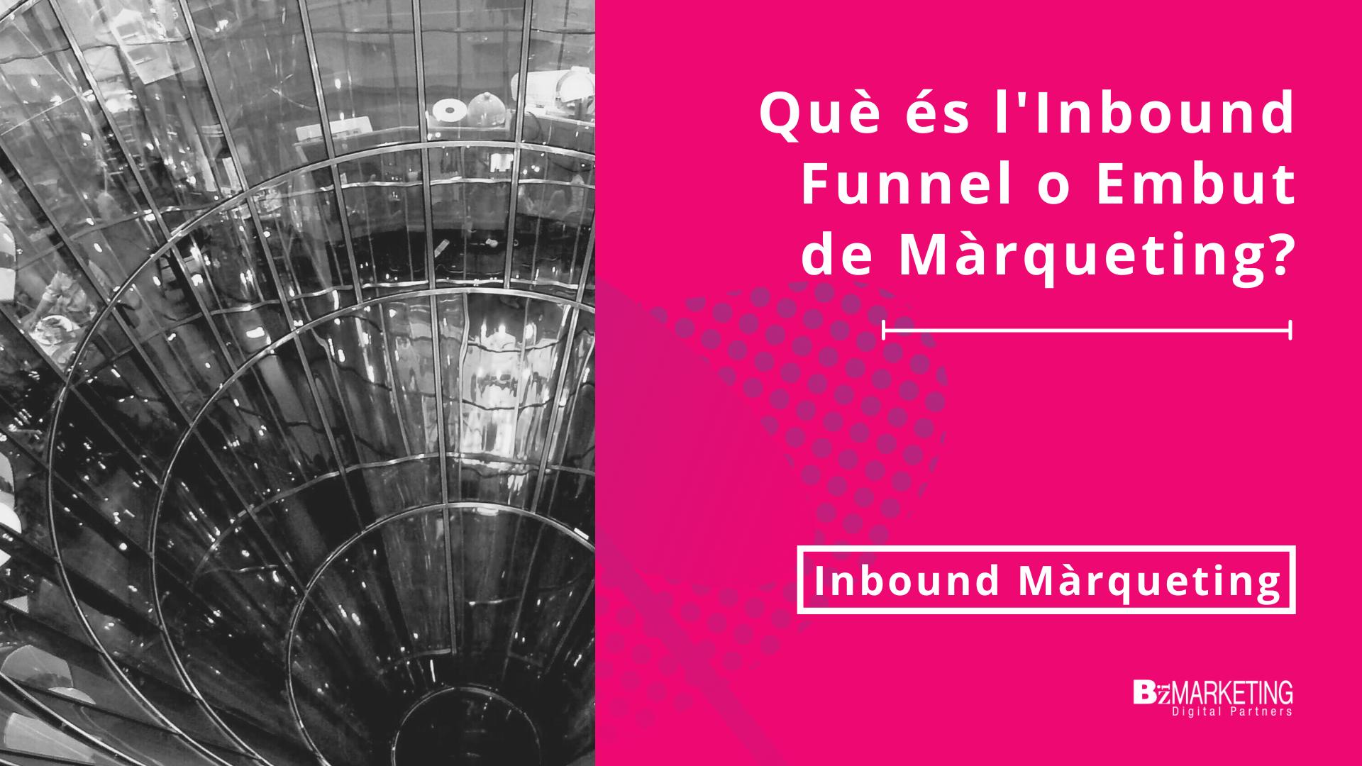 Que es l'inbound Funnel o Embut de Màrqueting BizMarketing